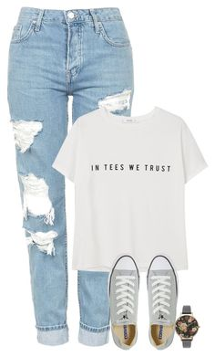 """""""aug.13: untitled"""" by fair-fair ❤ liked on Polyvore featuring Topshop, MANGO, Converse and Olivia Burton"""