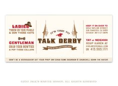 PRINTABLE Kentucky Derby Party Invitation