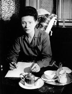 Simone de Beauvoir - http://www.wuz.it