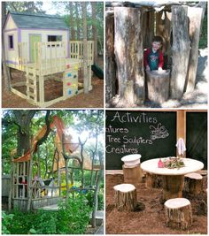 Incredible play spaces to add to your backyard!