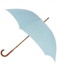 Blue Gingham Umbrella | http://www.liberty.co.uk/fcp/product/Liberty//Blue-Gingham-Umbrella-London-Undercover/70453
