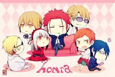 chibi k, Anime, Fanart, Pixiv, Fanart From Pixiv, K Project