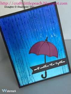 Stampin Up Weather Together card