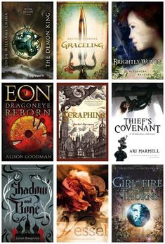 LIST OF THE WEEK: TEN GREAT FANTASY BOOKS There's nothing better than a well-crafted world: magic, politics, and rebellion blending together to form universes you've never explored! These high fantasy. Ya Books, I Love Books, Great Books, Books To Read, Book Suggestions, Book Recommendations, World Of Books, Cursed Child Book, Book Lists