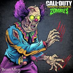 One of my favorite projects ever for #Activision for a series Ive been a huge fan of.  The clients wanted their different #CallofDuty  iconic #zombie characters in their new 80s themed zombie shooter illustrated using my style which was hugely flattering.  Each illustration was used on Activisions social media during the countdown to the release of the game.  The illustrations were drawn in a way to encourage fans of the game to insert their photos behind the zombies so it appeared like they…