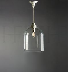 Hector Finch glass dome pendant