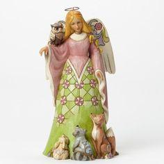 Spirit Of Spring-Spring Woodland Angel Figurine