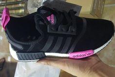 adidas originali nmd pk rosa glitter scarpe scarpe pinterest
