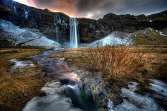 Wintery Stream (Explored)