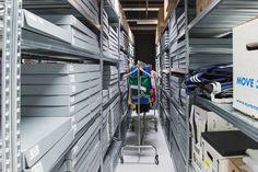 Zu Besuch beim adidas Archiv