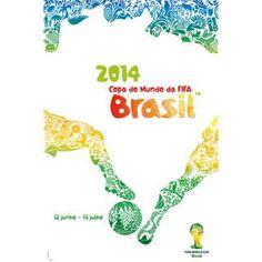 2014 FIFA ワールドカップブラジル オフィシャル ポスター インテリア (ポルトガル語)