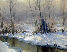 Emile Albert Gruppe, Winter, New Hampshire