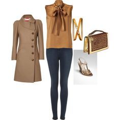 """""""Brown..."""" by mitika1980 on Polyvore"""