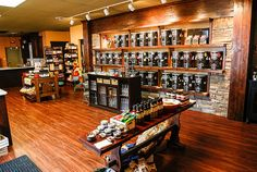 This is the neatest store!  They have so many choices of infused oils and vinegars, as well as flavored sea salt, peppercorns, rubs, etc!  Love, love, LOVE!!!
