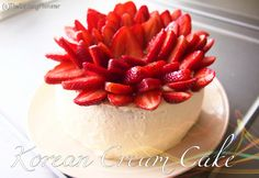 This cake has soft and fluffy layers of cake wrapped in light, airy whipped…