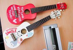 Ukeleles Pony Brown... algún día dejaré la obsesión por el piano y aprenderé ukulele