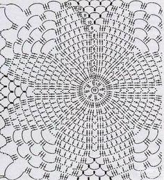 De motivos florales con los esquemas para realizar ideal para una mesa rectangular tambien va muy bien como colcha de hilo ,los patrones deb...