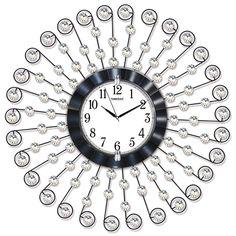 Lüx Taşlı Ferforje Büyük Boy Duvar Saati  Ürün Bilgisi ;  Ürün maddesi : Metal gövde, gerçek cam Ebat : 75 cm  Mekanizması : Akar saniye, sessiz çalışır Garanti : Saat motoru 5 yıl garantili Lüx Taşlı Ferforje Büyük Boy Duvar Saati Üretim  : Yerli üretim Kullanım ömrü uzundur Kalem pil ile çalışmakta Ürün fotoğrafta görüldüğü gibi olup orjinal paketindedir Sevdiklerinize hediye olarak gönderebilirsiniz