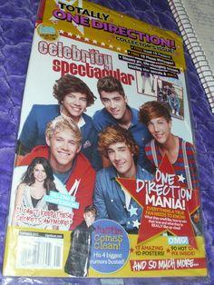 Tiger Beat NIP One Direction Collector's Edition Magazine Justin Bieber BTR Selena Gomez Justin Bieber And Selena, Bieber Selena, Selena Gomez, One Direction, Tiger Beat, Nonfiction Books, Confessions, Magazines, Idol
