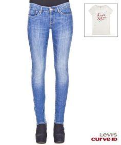 Slight Curve Skinny Real Blue - #Levis