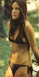 Ali McGraw - black bikini