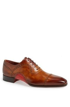Magnanni Cap Toe Oxford available at #Nordstrom