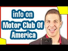 http://www.youtube.com/watch?v=vU27YZL4KsU - motor club of america Motor club of america, or MCA is an up and coming MLM company. MCA is growing fast, if you are thinking about joining Motor club of america make sure you check out this video!!