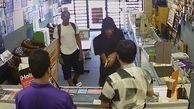 فرار دزدان مسلح در برابر فروشنده شجاع    فیلم