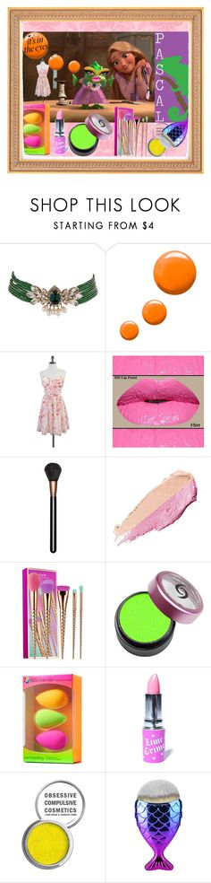 """""""It's In The Eyes....💛"""" by sweetdreamer24 ❤ liked on Polyvore featuring beauty, Shourouk, Topshop, Erin Fetherston, MAC Cosmetics, By Terry, tarte, beautyblender, Lime Crime and Obsessive Compulsive Cosmetics"""