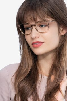 Striped oval eyeglasses available in variety of colors to match any outfit. These stylish full-rim, small sized acetate eyeglasses include free single-vision prescription lenses, a case and a cleaning cloth. Eyeglasses Sale, Eyeglasses Frames For Women, Oval Faces, Pretty Outfits, Pretty Clothes, Prescription Lenses, Fitness Fashion, Chic, Stylish