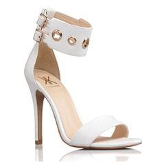 Kardashian Kollection Shoes Chistie White | Buy Online