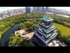 "DJI Phantom H3-2D ""Osaka Castle"" Osaka JAPAN - YouTube"