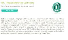 Softfobia ha realizzato per il gruppo ARUBA S.p.A. la nuova piattaforma per i rivenditori di posta certificata PEC.