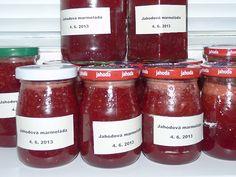 Jak připravit jahodovou marmeládu | recept