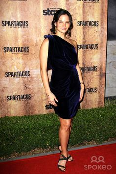 Katrina Law 'Spartacus: Blood and Sand' premiere held at The Hammer Museum