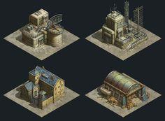 ArtStation - Iron Commander - Military Base, Yusuf Artun