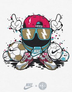 NIKE | T-Shirt Graphics by Diogo Machado, via Behance