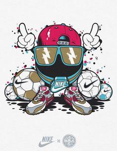 NIKE | T-Shirt Graphics by Diogo Machado, via Behance