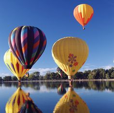Hot Air Balloons & Bubbles: A Drinkable History Lesson. The history of a champagne toast at the end of a hot air balloon flight. http://www.thebubblygirl.com/blog/?p=2474