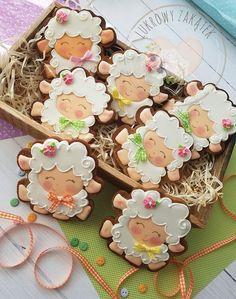 Cookie Frosting, Royal Icing Cookies, Cupcake Cookies, Sugar Cookies, Easter Cookies, Holiday Cookies, Frosted Cookies, Crazy Cookies, Gourmet Cookies