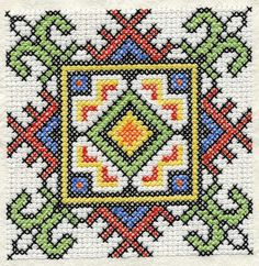 Ukrainian Cross Stitch Squares |