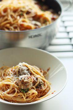 Gourmet Greu: Astetta parempi lihapullaspagetti