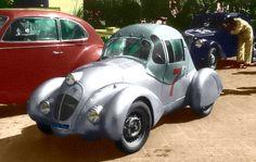 A Fiat 500 testa Siata 1938, very cool