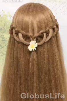 Open Hairstyles, Easy Hairstyles For Medium Hair, Braided Hairstyles, Front Hair Styles, Short Hair Styles Easy, Medium Hair Styles, Natural Hair Tips, Natural Hair Styles, Long Hair Video