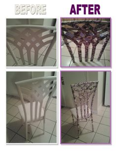 Okay, well my daughter and I had a rough 2012 and was homeless until December 2013. We decided that we would decorate our new place with our favorite colors (Purple & Lime Green)!!!! We got this dining room table & chairs from our neighbor for $15. Here is the dining room chairs... So excited.  The seats are a citris lime green covered in plastic. We used this awesome unforgettable wrapping paper called Lotus from www.papermart.com they have a great selection for ANY occasion in BULK!!!