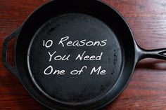 Ten Reasons For Cast Iron | Macheesmo