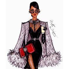 sketch by hayden williams    #fashion #illustration