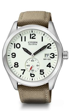 Citizen Watch  Love the simplicity! It does what a watch is supposed it do :)