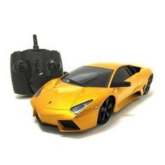 RC Yellow Lamborghini Reventon Multi Channel RC Supercar 2.4 GHz 1:18-scale Toy #Lamborghini
