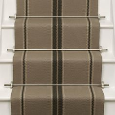 Designers and Makers of unique stripe runners, rugs and fabrics in natural fibres. Simply Luxury for Modern Living Hallway Carpet, Carpet Stairs, Granite Stairs, Sisal Carpet, Carpet Shops, Porch Flooring, New Carpet, Carpet Runner, Things That Bounce